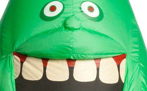 Ghostbusters' Inflatable Slimer Child Costume - Boys ...