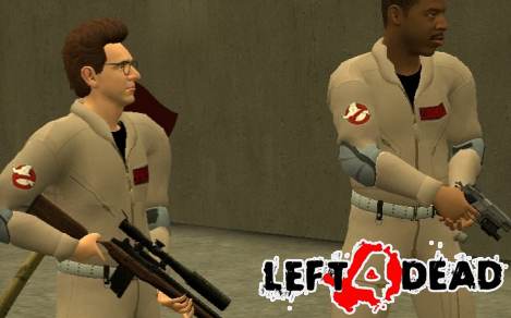 Like Left 4 Dead? Love Ghostbusters? This mod is for you  -