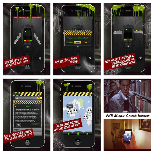 suggest you take a look at the brand new PKE Meter Ghost Hunter app