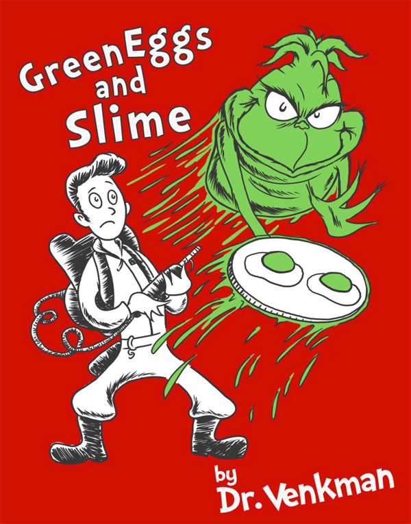 New T Shirt Green Eggs And Slime