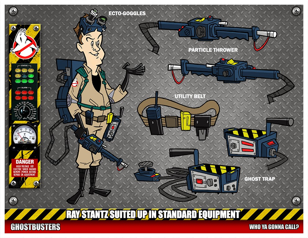 30 Pieces Of Ghostbusters Art From Artist Phil Postman