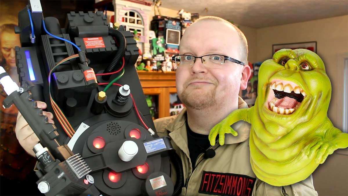 Spirit Halloween Ghostbusters Deluxe Proton Pack And