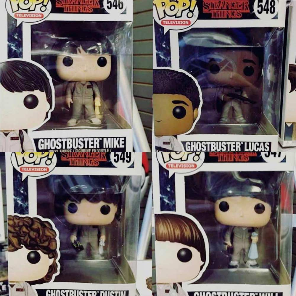 More Stranger Things Ghostbusters Pop Figures Revealed