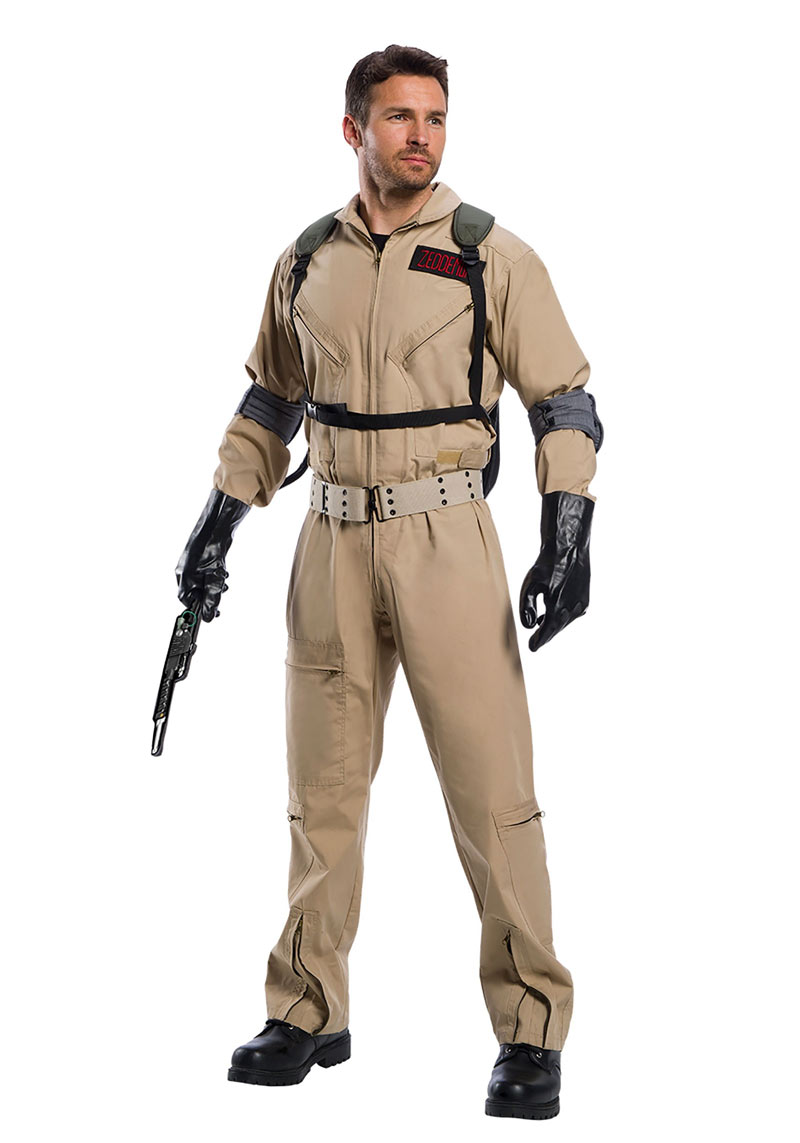 premium ghostbusters halloween costume now on sale! -