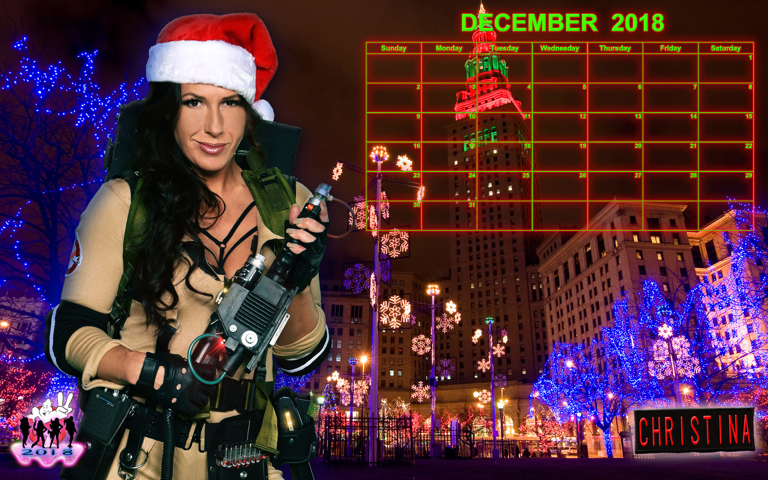 Occult Calendar December 2019 Ghostbusters Calendar: December 2018   Ghostbusters News