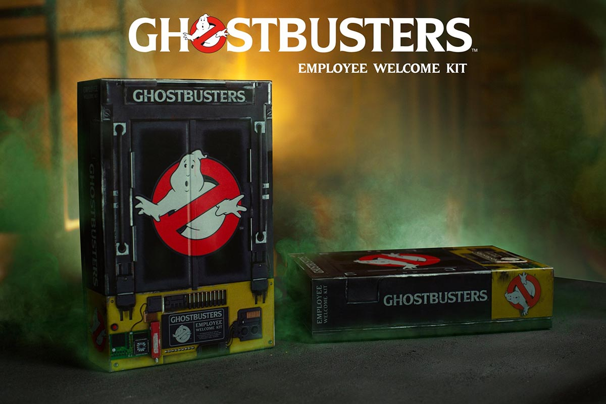 RARE THE REAL GHOSTBUSTERS Spectral Ghostbusters Action Figures 2019 San Diego comic-con EXC