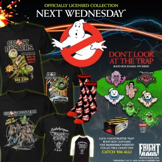 Fright Rags reveal EXCLUSIVE line of Ghostbusters apparel