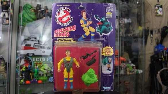 Ghost Busters Screaming Heroes Peter Venkman Complete