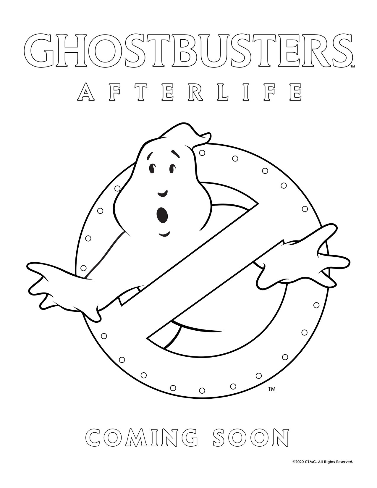 Ghostbusters Car Coloring Page - Free Ghostbusters Coloring Pages ...   1650x1275