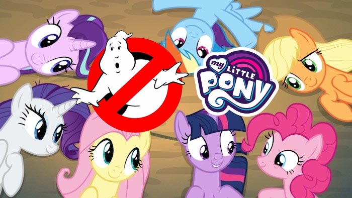 In Stock My Little Pony Crossover Collection Ghostbusters Plasmane NIB