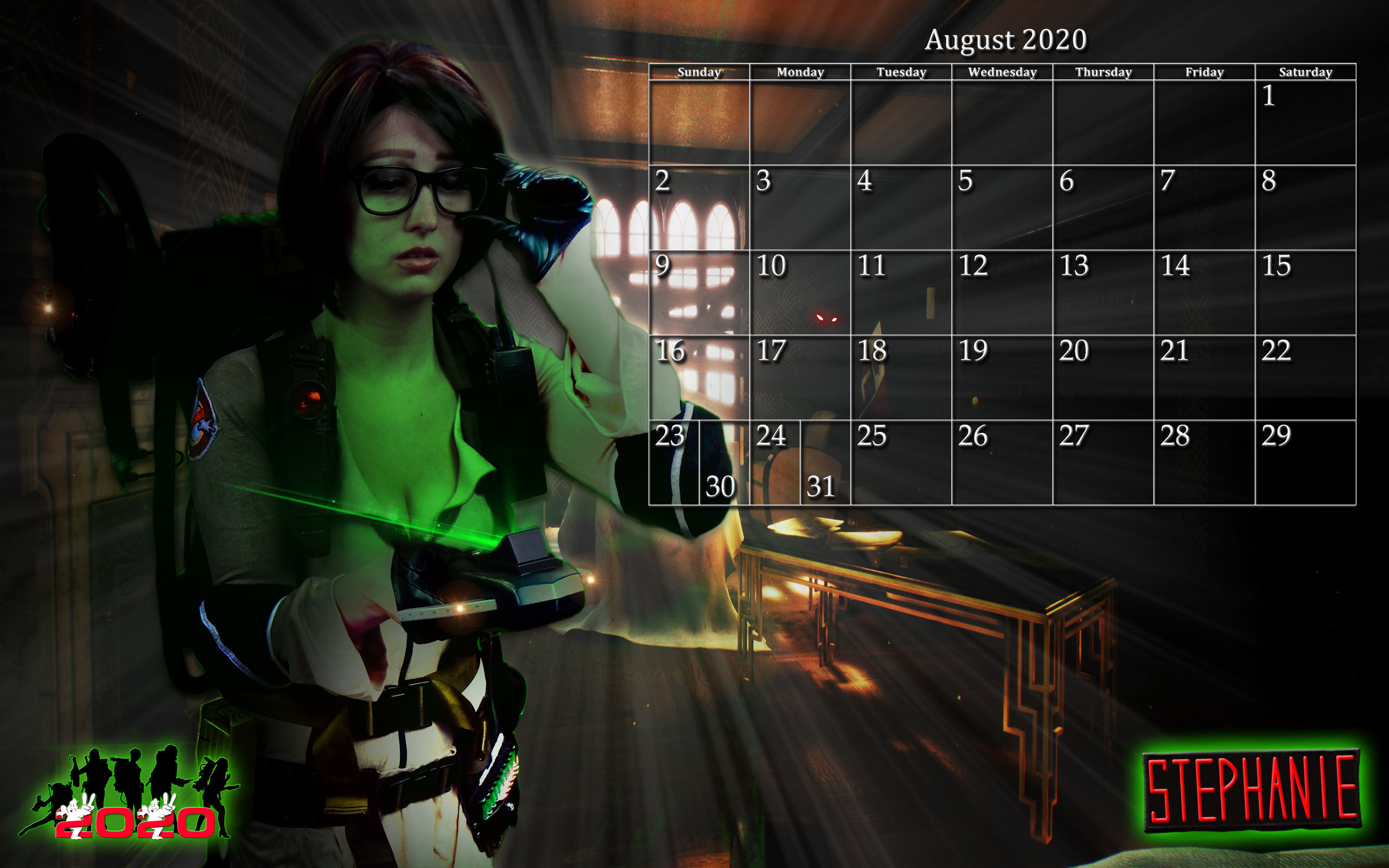 Lego Calendar August 2021 Ghostbusters Calendar: August 2020   Ghostbusters News