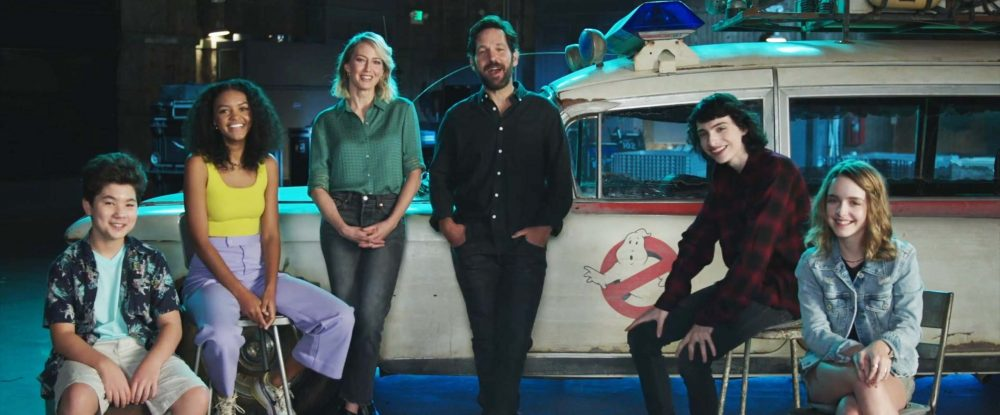 Ghostbusters: Afterlife cast unite in new video, calling fans to return to  cinemas - Ghostbusters News